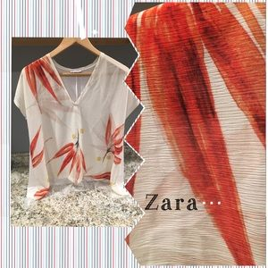 NWT Beach cover up by Zara see details for Sz